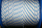 YACHT MASTER LINE - POLYESTER COVER POLYESTER CORE-Pre Stretch - Price per Yard