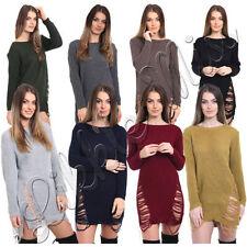 Oversize Casual Jumper Dresses