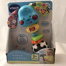 Vtech Baby Rattle & Sing Puppy in Blue Developmental Toy