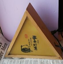 VINTAGE TRIANGLE ASIAN NIGHT LIGHT