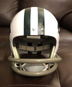 Joe Namath Throwback TK Riddell Suspension New York Jets FS Football Helmet