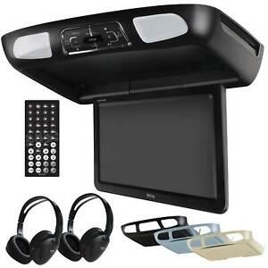 Boss Flip Down 10.1Inch Monitor Screen DVD CD SD MP3 Player w/ Remote BV10.1MC