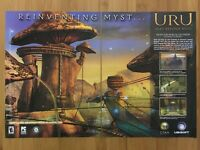 Uru: Ages Beyond Myst PC 2003 Vintage Print Ad/Poster Art Official Big Box Promo