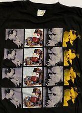 More details for phil collins 1994 both sides tour black t-shirt official, size x-large