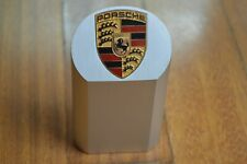 Genuine  Aluminum PORSCHE PAPERWEIGHT – PYLON - TROPHY New in Box