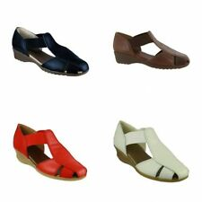 Women's 100% Leather Slip On, Mules Sandals & Beach Shoes
