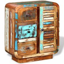 vidaXL Solid Reclaimed Wood Sideboard Antique Retro Highboard Console Cabinet