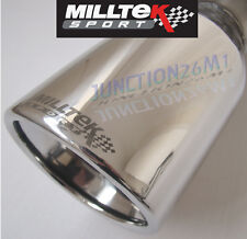 Milltek Fiesta ST150 MK6 Exhaust Sports Cat Manifold & Cat Back Non Res (2006)