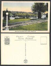 Old Canada Postcard - London - Springbank Park - River Drive