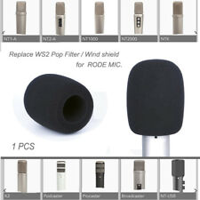 Re WS2 Pop Filter Windscreen for Rode NT-USB Podcaster K2 NTK NT1-A Wind Shield