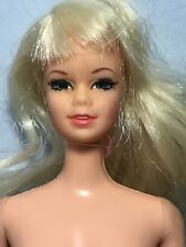 1968 Blonde Talking Stacey Doll Mute Mod Vintage Barbie Friend Mattel