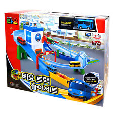 Tayo the Little Bus Track Play Set Toy 1 Mini Car Characters Children Kids Gift