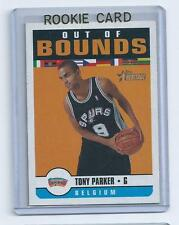 Tony Parker 2001-2002 Topps Heritage Out of Bounds  Rookie Card #oob