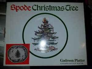 "Spode christmas tree 16.25"" Gadroon Platter"
