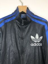 Vtg Adidas Chile Big Logo Shell Track Jacket Tracksuit Sweatshirt Mens S Small