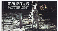 1979 Mauritius MI 477-479 - Apollo 11 Moon Landing Self Adhesive Booklet*
