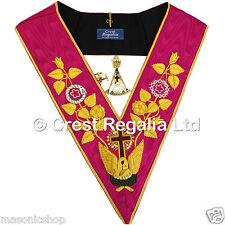 Masonic Rose Croix 18th Degree Complete Set Collar Collar Jewel and Cuff Links