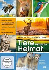 DVD Tiere unserer Heimat - 5 Filme ///TOP-ZUSTAND///