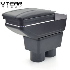 Vtear For Nissan Tiida armrest box center Storage box with cup holder 2005-2016