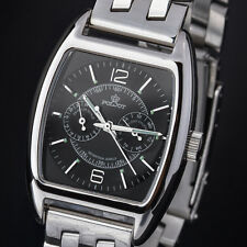 Poljot 26668 - Aero Club Black - Tonneau - Russian Watch NOS - Analog Watch