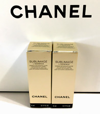 NEW Chanel SUBLIMAGE L'ESSENCE LUMIERE ULTIMATE CONCENTRATE 2 x 5 ml/ 0.17 fl.oz