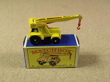 VINTAGE LESNEY MATCHBOX # 11 JUMBO CRANE ORIGINAL BOX
