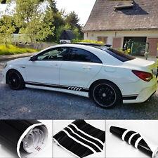 für Mercedes Benz C Klasse - AMG CLA Seitenstreifen Sportstreifen Aufkleber Set