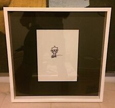 Ron English Extremely Rare Drawing on Paper ready to hang Kaws Obey Invader