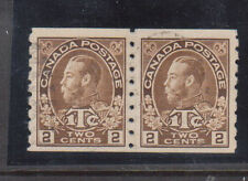 Canada #MR7a VF Used Scarce Coil Pair