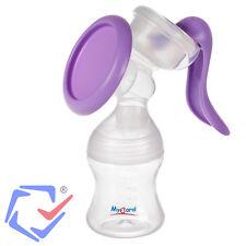 Manuelle Milchpumpe Handpumpe Handmilchpumpe mit Flasche 130 ml Brustpumpe TOP