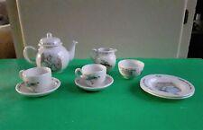 New ListingWedgwood Beatrix Potter Peter Rabbit 10 Pc Tea Set