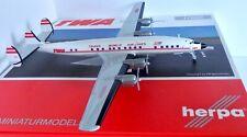 TWA Lockheed L-1649A Starliner Diecast Model Aircraft Herpa 1/200 HE558372-001