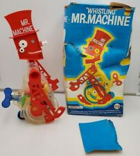 1977  Vintage Ideal Marx Toy Corp MR. MACHINE WHISTLING ROBOT
