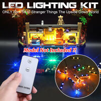 LED Light Lighting Kit Fits For LEGO 75810 Stranger Things The Upside Down World