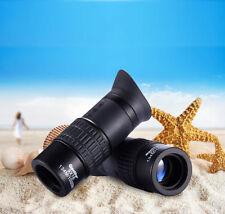 UK QANLIIY 9X18 Pocket Size Portable HD Optic Night Lens Monocular Telescope
