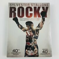 Rocky: Heavyweight Collection 40th Anniversary Edition (Blu-Ray, 6-Disc Box Set)