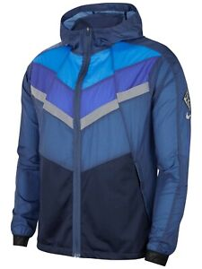 CU5738-469 New with tag Men Nike  Windrunner hooded full zip Running Jacket $120