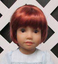 "DOLL Wig, Monique ""Blossom"" Size 4, IRISH RED (PLS READ DESC !)"