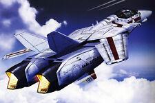 Macross/Robotech VF-1J Hikaru/Rick Poster 12inchesx18inches Free Shipping