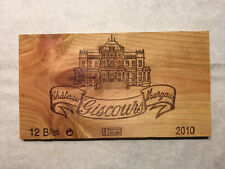 New listing 1 Rare Wine Wood Panel Château Giscours Margaux Vintage Crate Box Side 7/20 93