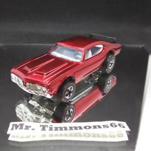 Hot Wheels Redline Red Olds 442 Conversion - Restored