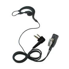 2 Pin Earphone Walkie-Talkie Earpiece Headset Microphone MIC For Motorola Radio