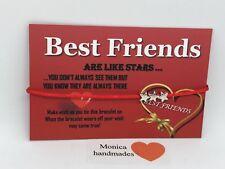 Best Friend Friendship Star Wish Bracelet Perfect Gift Buy 1 Get 1 Free❤