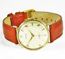 14k Vintage Gentleman's Hamilton Bubbleback Wristwatch