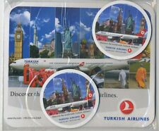 TURKISH A-330 1 + 2 mouse pad set sealed - mint cond