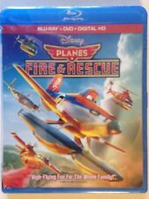 Planes: Fire  Rescue (Blu-ray/DVD, 2014, 2-Disc Set, ) (NEW