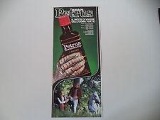 advertising Pubblicità 1971 AMARO PETRUS BOONEKAMP