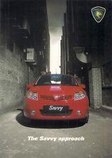 Proton Savvy 2006-07 UK Market Sales Brochure 1.2 Street Style