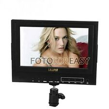 "Lilliput 7"" 5D-II 5D2 HDMI Input field Monitor HD Camera + Hot shoe mount+ Cable"