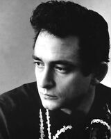 American Singer JOHNNY CASH Glossy 8x10 Photo Country Music Print Portrait